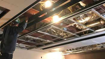 Drop Ceiling Grid Medical Equipment Support System